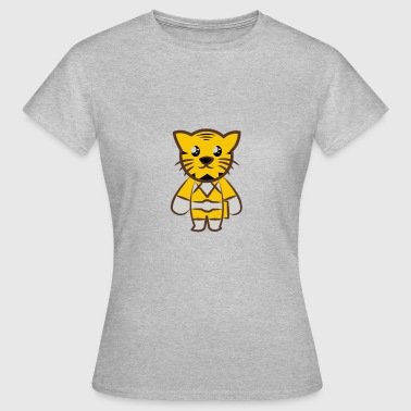 Tiger Style Sweet tiger in comic style - Women's T-Shirt