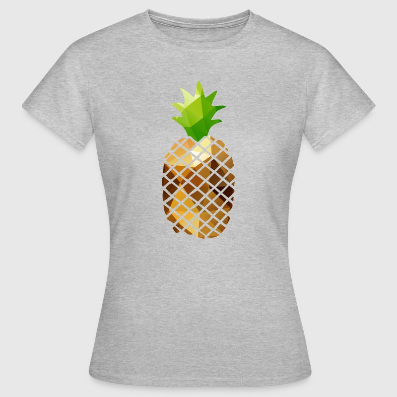 Pineapple (Low Poly) - Women's T-Shirt