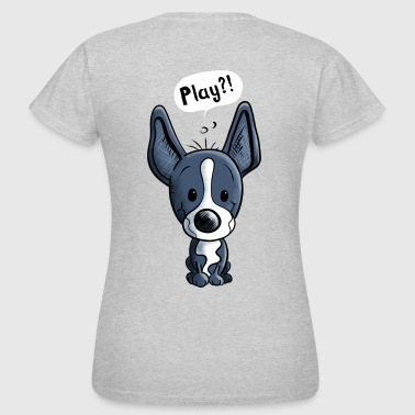 Boston Terrier Play - Chien  - Chiens - Animal - T-shirt Femme