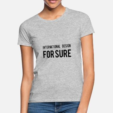 Internationella Spel Internationell design - T-shirt dam