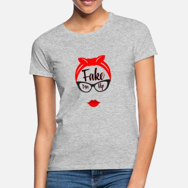 Pin-up Fake Pin Up - T-shirt dame