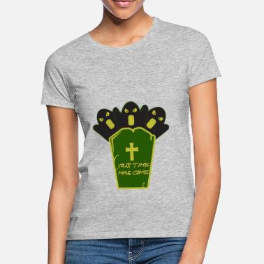 Grave Halloween on a grave - Halloween with a grave - Women's T-Shirt