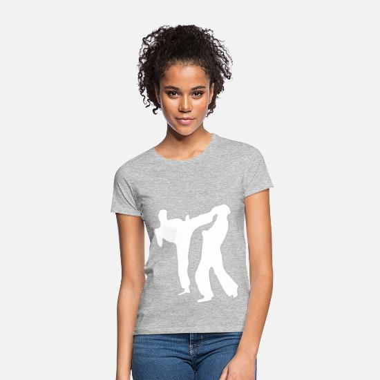 Shock T-Shirts - KICKER 2.0 - Women's T-Shirt heather grey