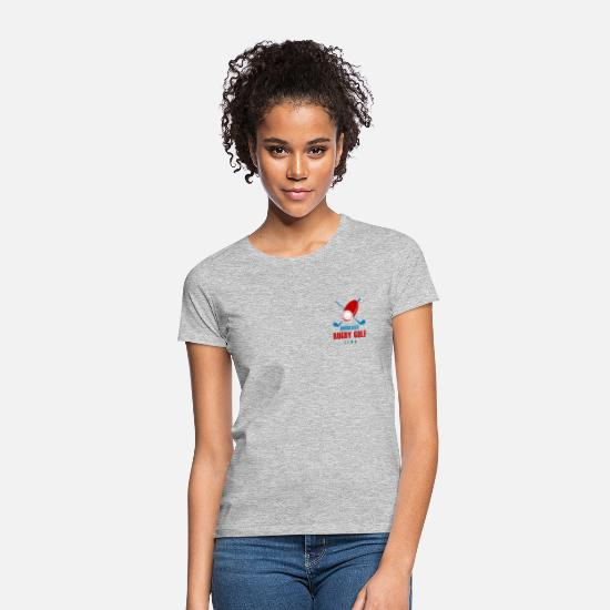 Rugby T-Shirts - Bordeaux Rugby Golf Club - Women's T-Shirt heather grey