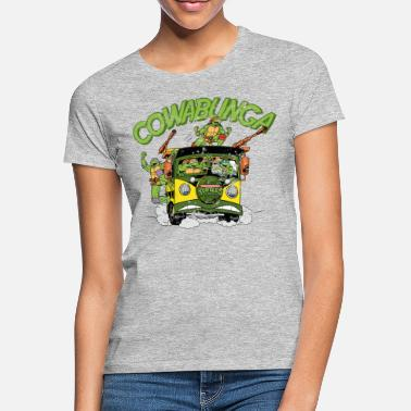 Turtles TMNT Turtles Cowabunga Bus Tour - Women's T-Shirt