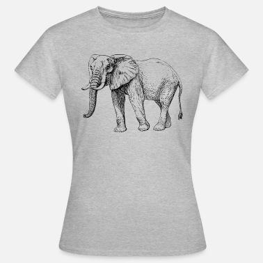 Premium Mujer Tirantes Camiseta Negro Blanco Elefante De Y Spreadshirt xwtXY0Xfq