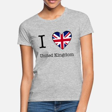 Uk Patriot I love UK - Women's T-Shirt
