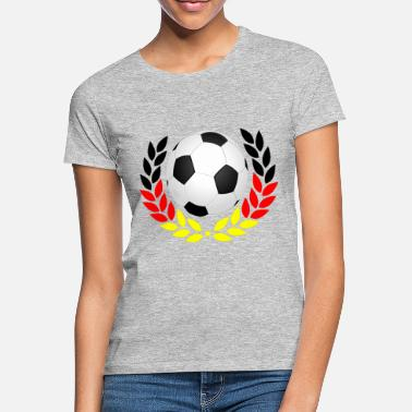 Black Red Gold Football black red gold - Women's T-Shirt