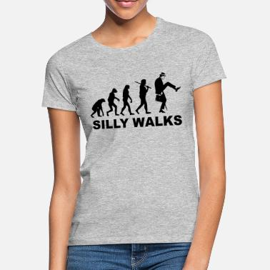 Ministry Evolution - Silly Walks - Monty Python - Women's T-Shirt
