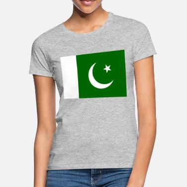 Central Asia Pakistan Flag - Women's T-Shirt