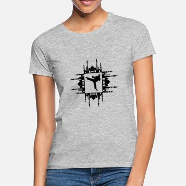 Blasen moschee horeeya riyal fight arabisch ornament - Frauen T-Shirt
