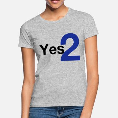 Independence Yes 2 Scottish Independence - Women's T-Shirt