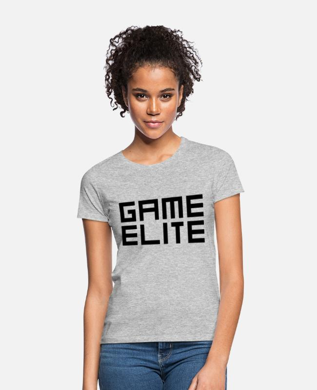 Life Force T-Shirts - Game Elite - Women's T-Shirt heather grey
