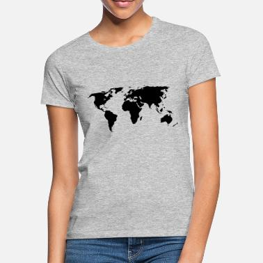 World Map world map - Women's T-Shirt