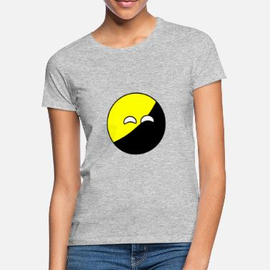 Anarcho Capitalism Ancap ball - Women's T-Shirt