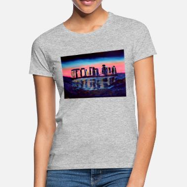 Mystical Stonehenge - Women's T-Shirt