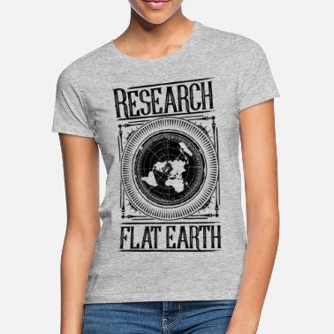 Flat Flat Earth - Flat Earth - Women's T-Shirt