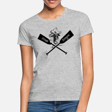 Boat Pirate Dragon boat - Women's T-Shirt