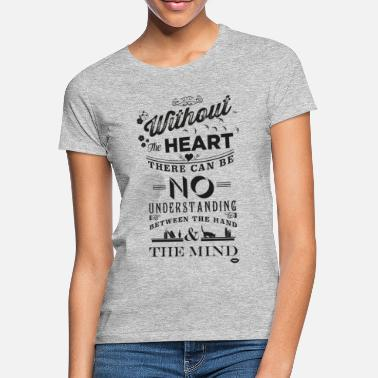 Madonna Without the heart black - Women's T-Shirt