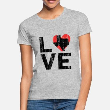 Texaner Texas Texaner Love - Frauen T-Shirt