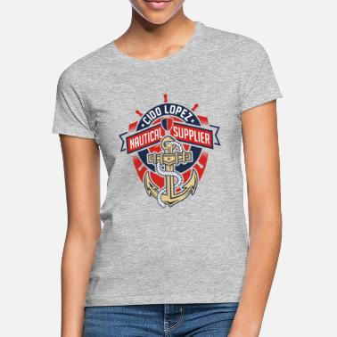 Graphic Art Nautical Graphic Art - Women's T-Shirt