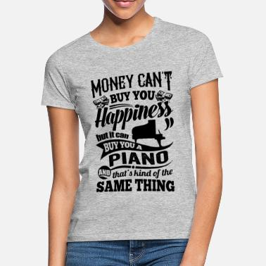 Piano Funny gift for pianists piano piano - Women's T-Shirt