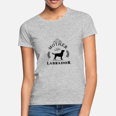I Love Mutter Labrador Tshirt Frauchen Geschenk I Love Mutter - Frauen T-Shirt