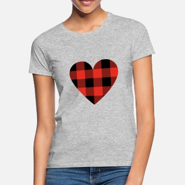 Lumber lumber heart - Women's T-Shirt