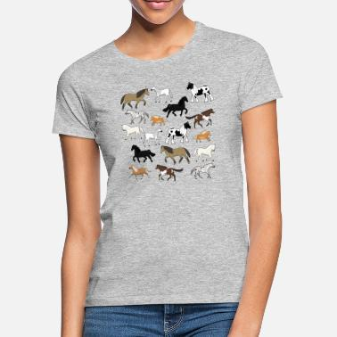 Messed Up Horses are messed up - Women's T-Shirt