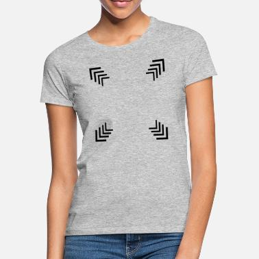 Square of several corners - Women's T-Shirt