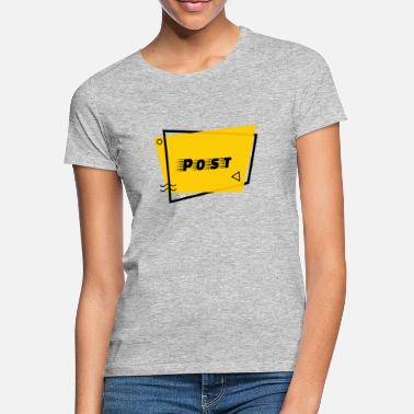 Poststempel Post - Frauen T-Shirt