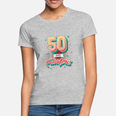 50 Birthday 50th birthday 50 years vintage 1968 gift - Women's T-Shirt