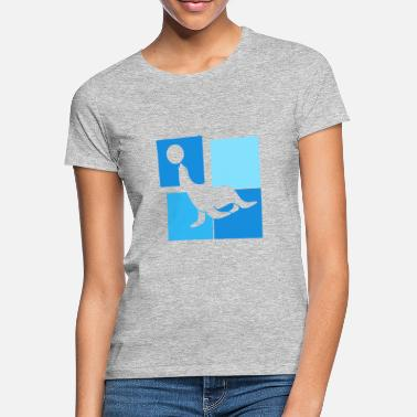 Sea Creatures Sea Lion - Sea Creature - Mammal - Women's T-Shirt