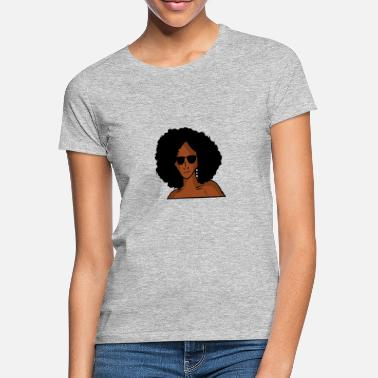 Powerful Black Woman - Women's T-Shirt
