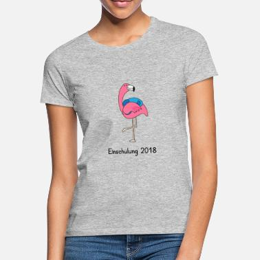 Bookbag Training 2018 - Flamingo with satchels - Women's T-Shirt