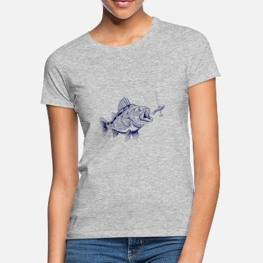 Perch Perch Angler Shirt - Predator Fishing - Women's T-Shirt