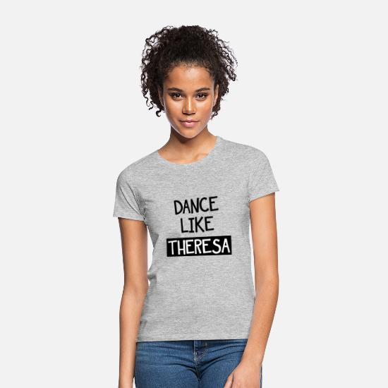 Brexit T-Shirts - Dance Like Theresa - Women's T-Shirt heather grey