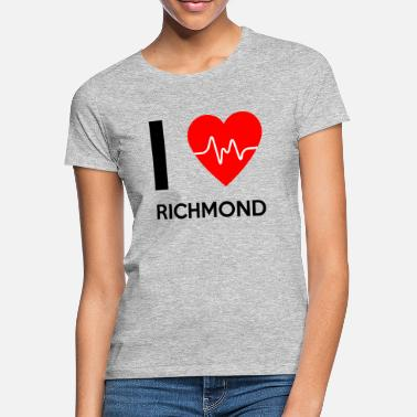 Richmond I Love Richmond - Rakastan Richmond - Naisten t-paita