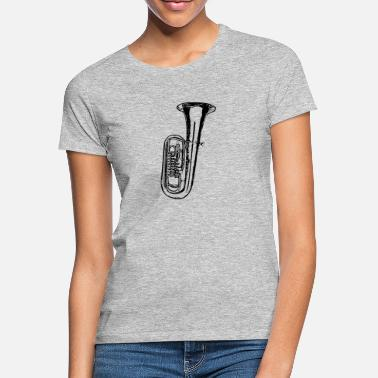Tenor Tuba - Frauen T-Shirt