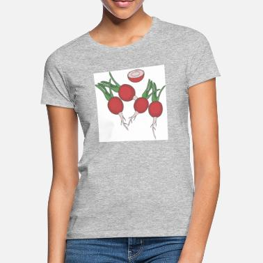 vegetable radishes - Women's T-Shirt