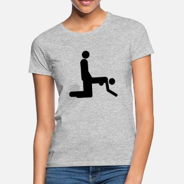 Sexy Girl Sex positioner - T-shirt dam