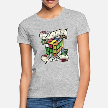 Rubik's Cube Tatoo - Women's T-Shirt