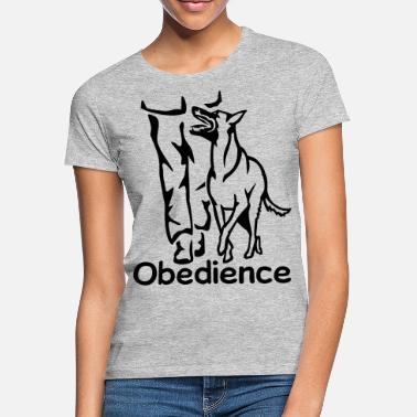 Obedience 283 Obedience Malinois - Frauen T-Shirt