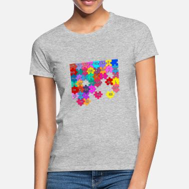 Van Van Gogh Quote Quote Puzzle Great Things Together - Women's T-Shirt
