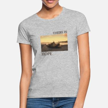 Jesus There_is_hope_natural_colour - Women's T-Shirt