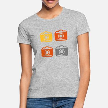 Photo Camera Photo Camera Photo Camera Photo Camera - Women's T-Shirt