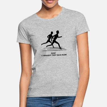 Run Like A Girl løb - T-shirt dame