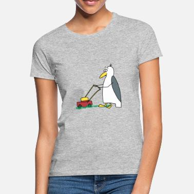 Stone Lawnmower gull - Women's T-Shirt