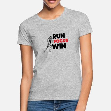 Run Focus Win - Football americano - Maglietta donna