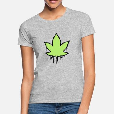 Hemp Leaf Hemp leaf - Women's T-Shirt